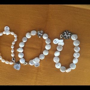Handcrafted mother of pearl bracelets